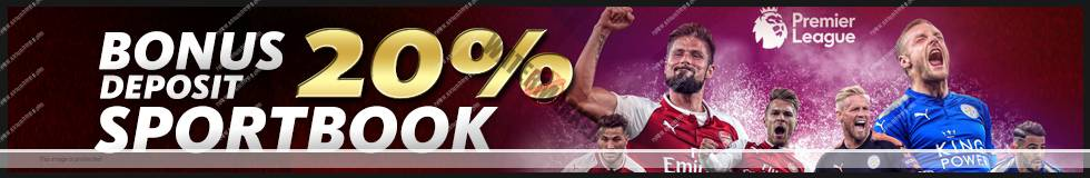 Bonus Deposit 20% Sportbook