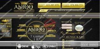 AhliQQ Agen Situs Judi Poker Qiu Qiu Online Terpopuler di Indonesia