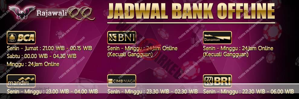 Bank Support Situs RajawaliQQ