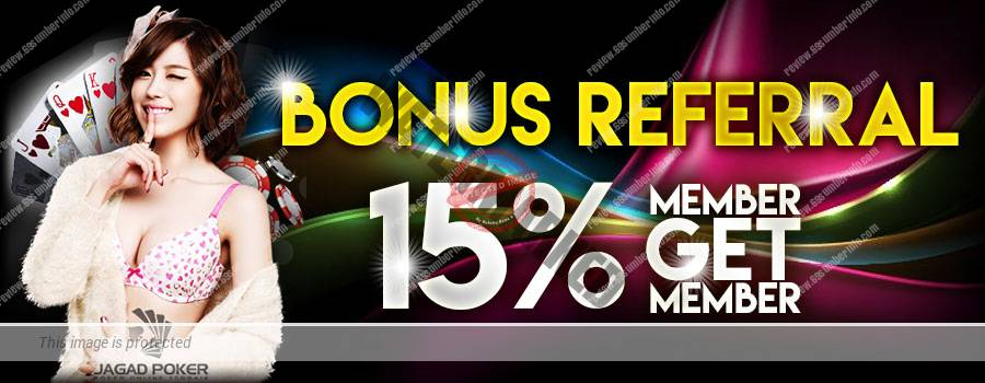 Bonus Referral jagadpoker