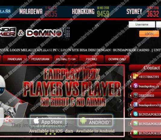 Bundapoker Agen Poker DominoQQ Online Promo Cashback 0.3%