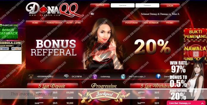 DanaQQ Agen Judi Online Terbaik yang memiliki Winrate 97%