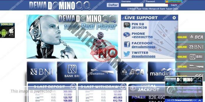 DewaDominoQQ Situs Bandar Poker Pelayanan Terbaik