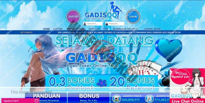 GadisQQ Situs Judi Poker DominoQQ BandarQ Online Terbesar