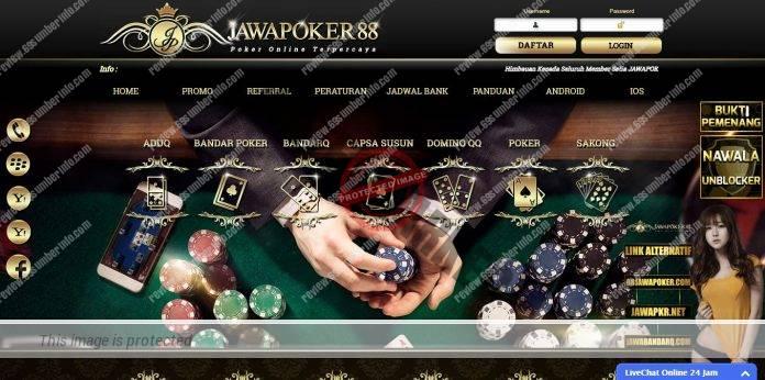 JawaPoker88 Situs BandarQ Poker Online, Deposit Hanya 10 ribu!!