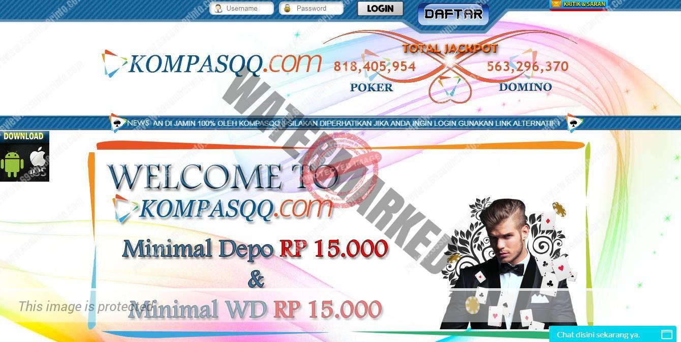 KompasQQ Agen Judi DominoQQ Poker Online Terpercaya di Asia