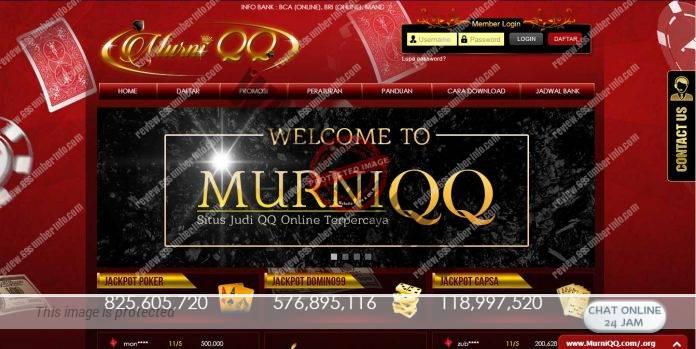 MurniQQ Agen Domino Dan Poker Online Terbaik Saat Ini