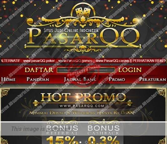 PasarQQ Agen Judi Poker DominoQQ BandarQ Capsa Online Terpercaya